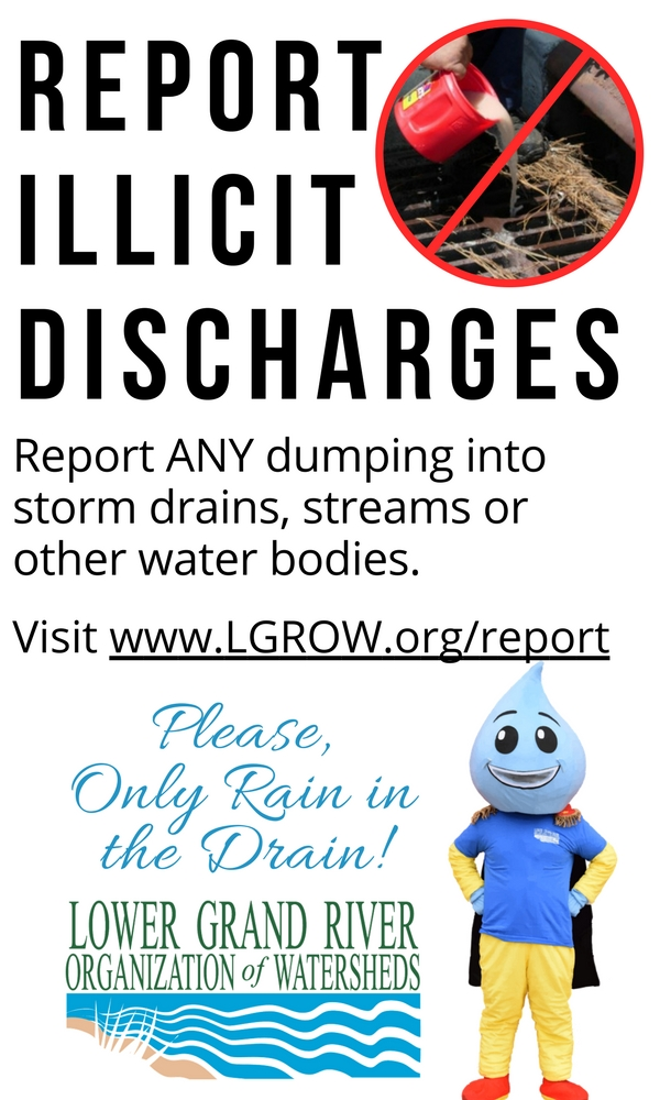 LGROW: Report Illicit Discharge