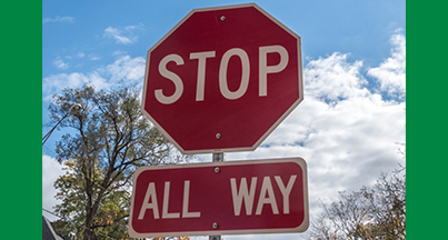 ALL-WAY STOP TO BE INSTALLED AT 13 MILE ROAD & PINE ISLAND DRIVE