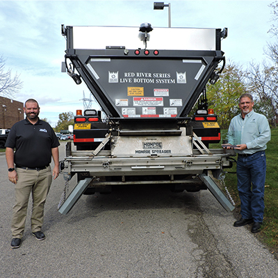 KCRC Awarded Innovative Idea Award at 2020 Snowplow Roadeo