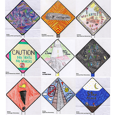 Work Zone Safety Poster Contest Winners