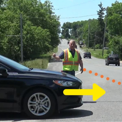 How to Navigate Intersection When Vegetation is High