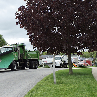 """Local Agencies' """"Fleets through the Streets"""" Celebrate National Public Works Week"""